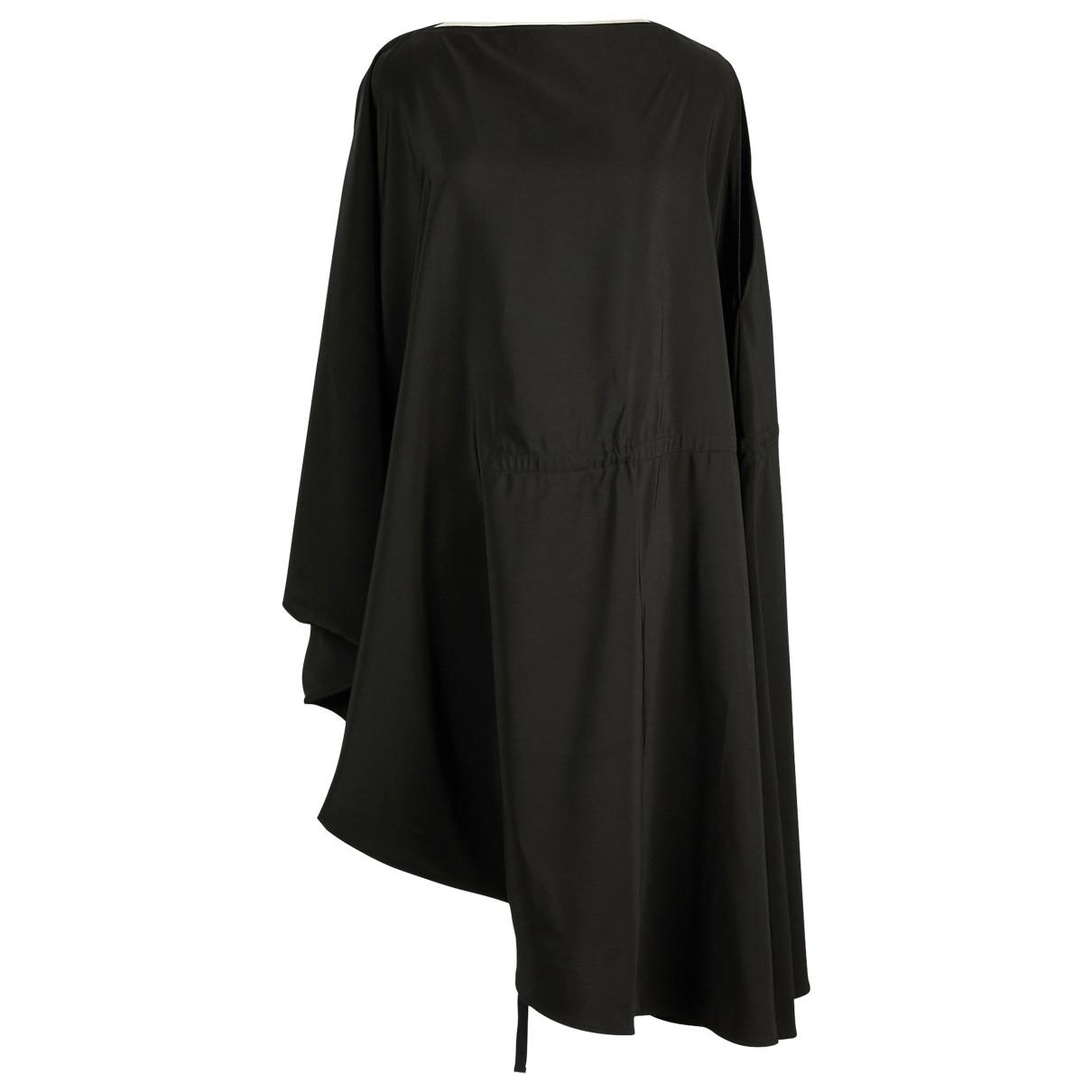 Maison Martin Margiela \N Kleid in  Schwarz Polyester