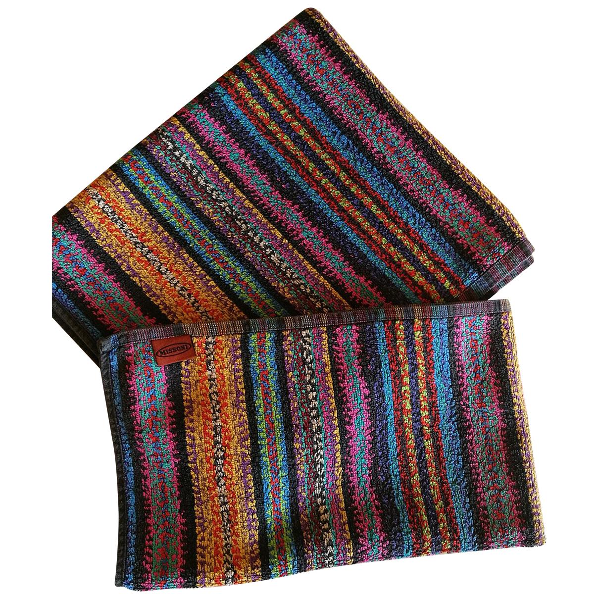 Missoni - Linge de maison   pour lifestyle en eponge - multicolore