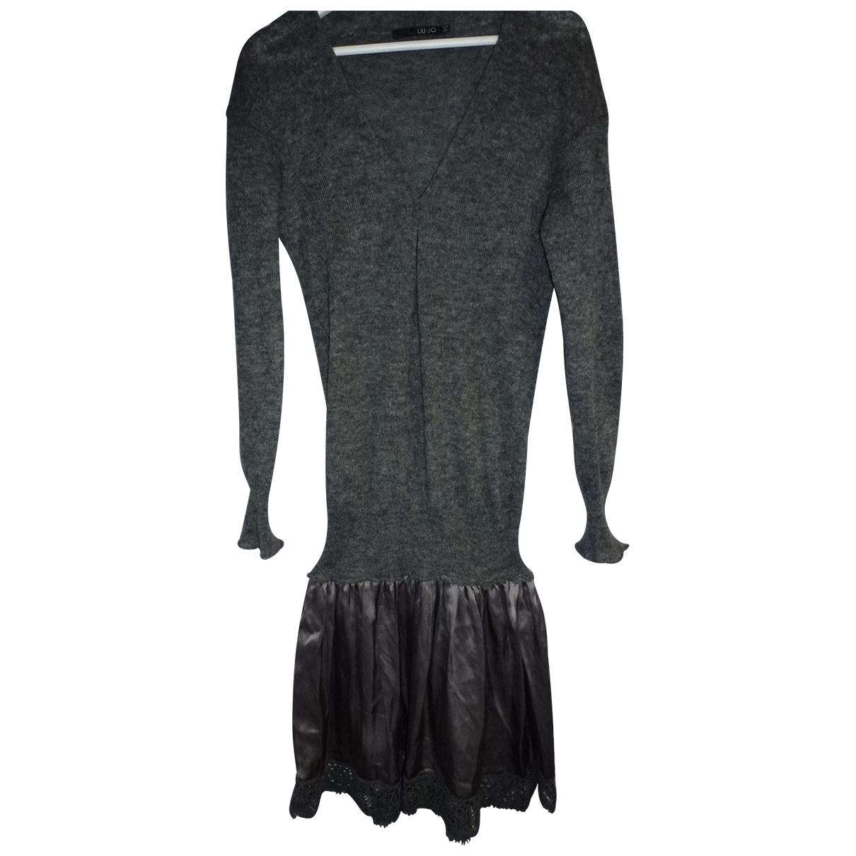 Liu.jo - Robe   pour femme en cachemire - gris