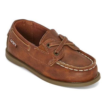 Carter's Toddler Boys Boys Bauk Boat Shoe Boat Shoes, 5 Medium, Brown
