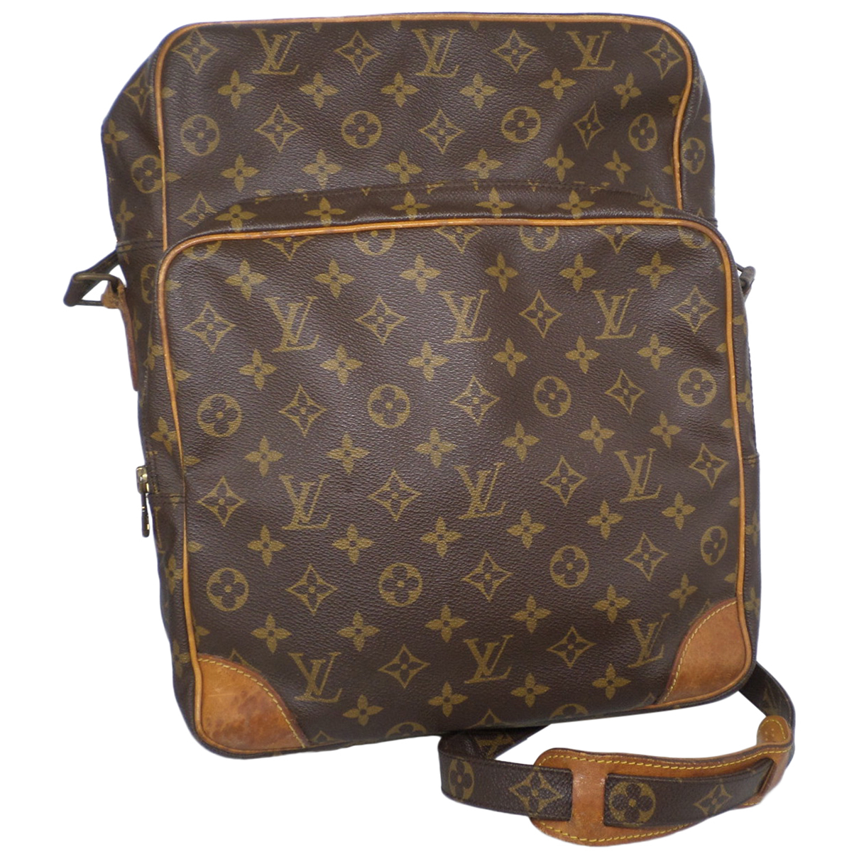 Louis Vuitton Amazon Brown Cloth handbag for Women \N
