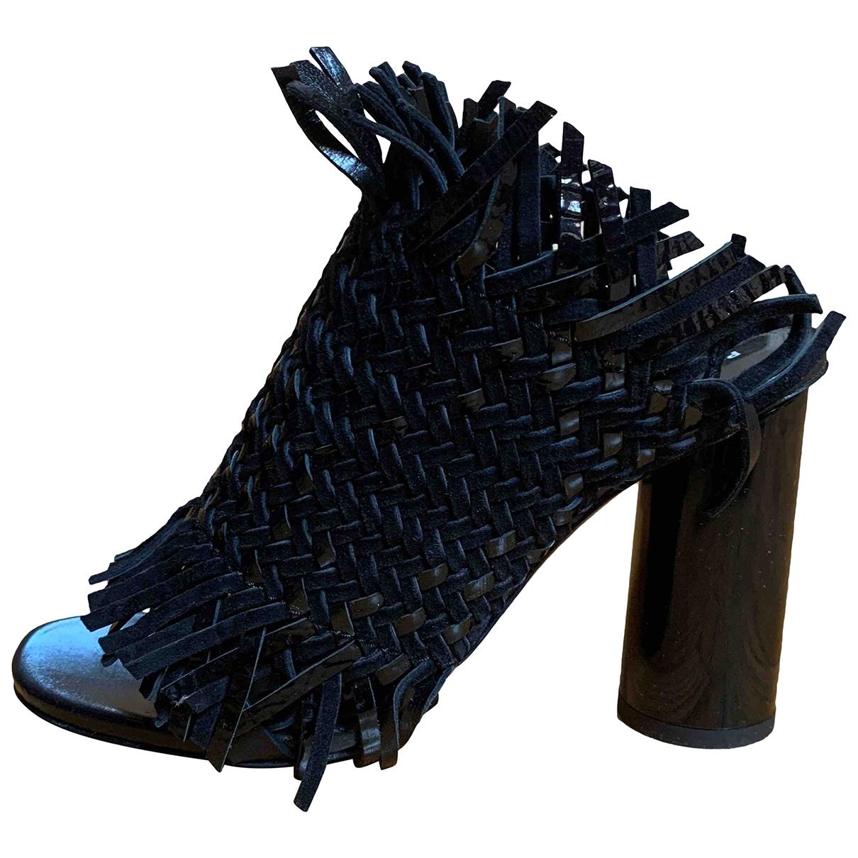 Proenza Schouler - Sandales   pour femme en cuir - noir