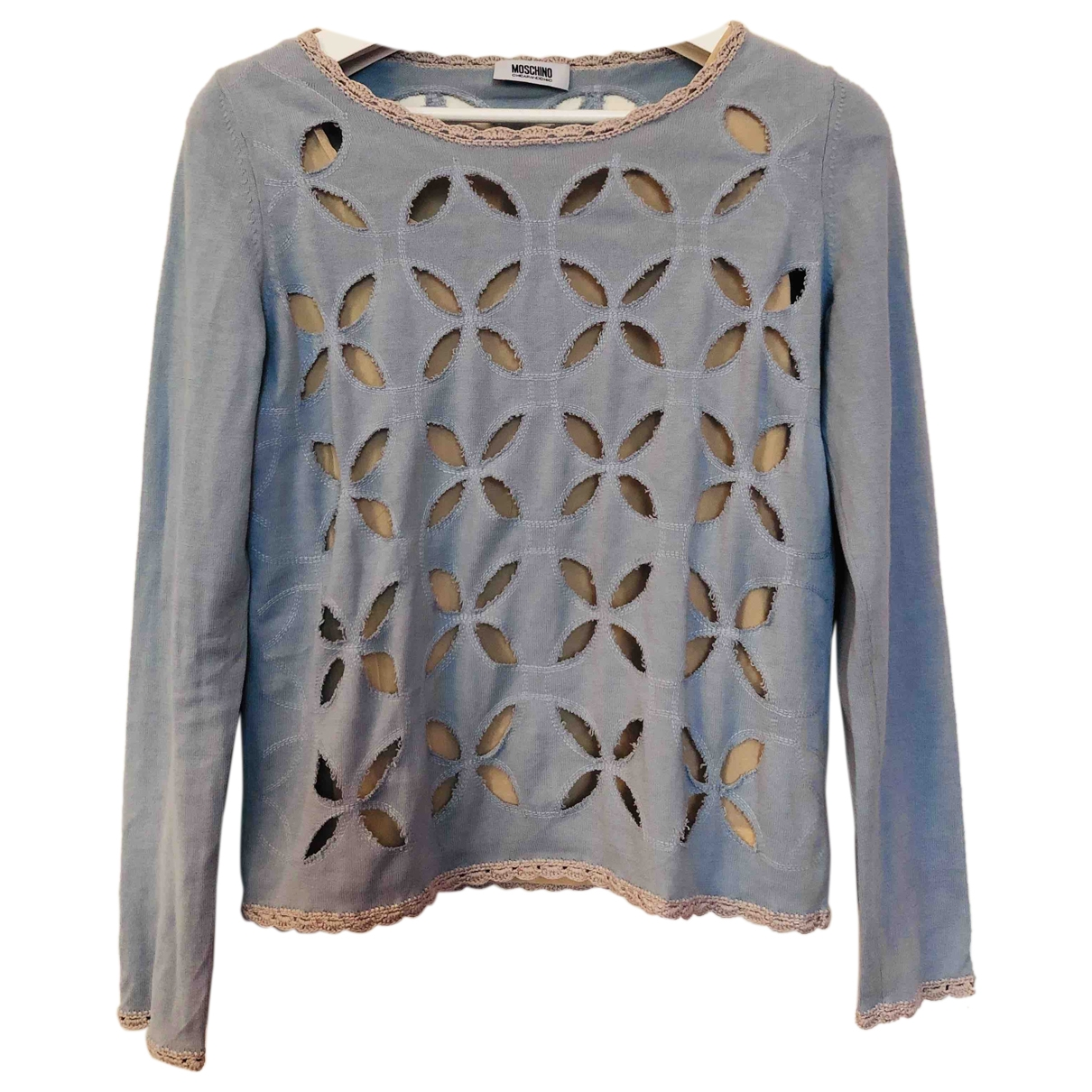 Moschino Cheap And Chic \N Top in  Blau Baumwolle