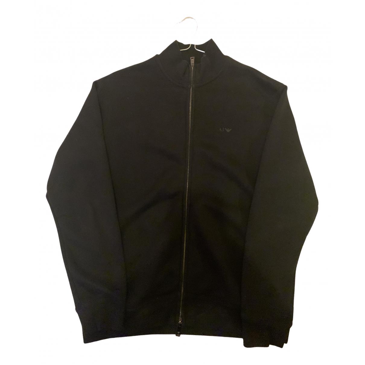 Armani Jeans \N Pullover.Westen.Sweatshirts  Schwarz