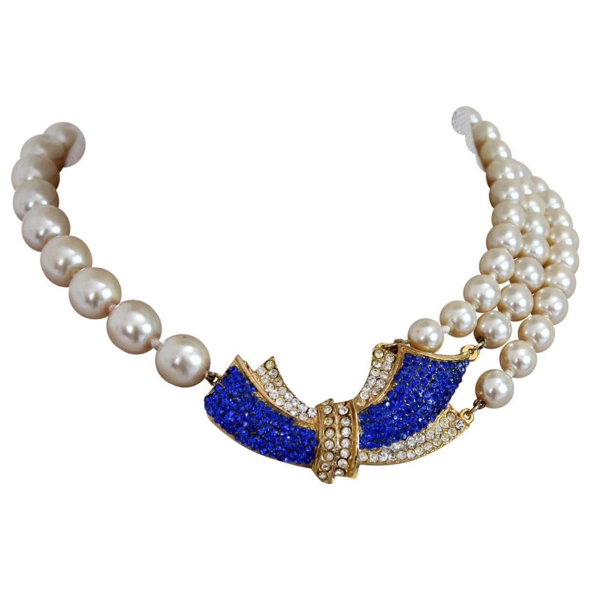 Pierre Cardin \N White Pearls necklace for Women \N