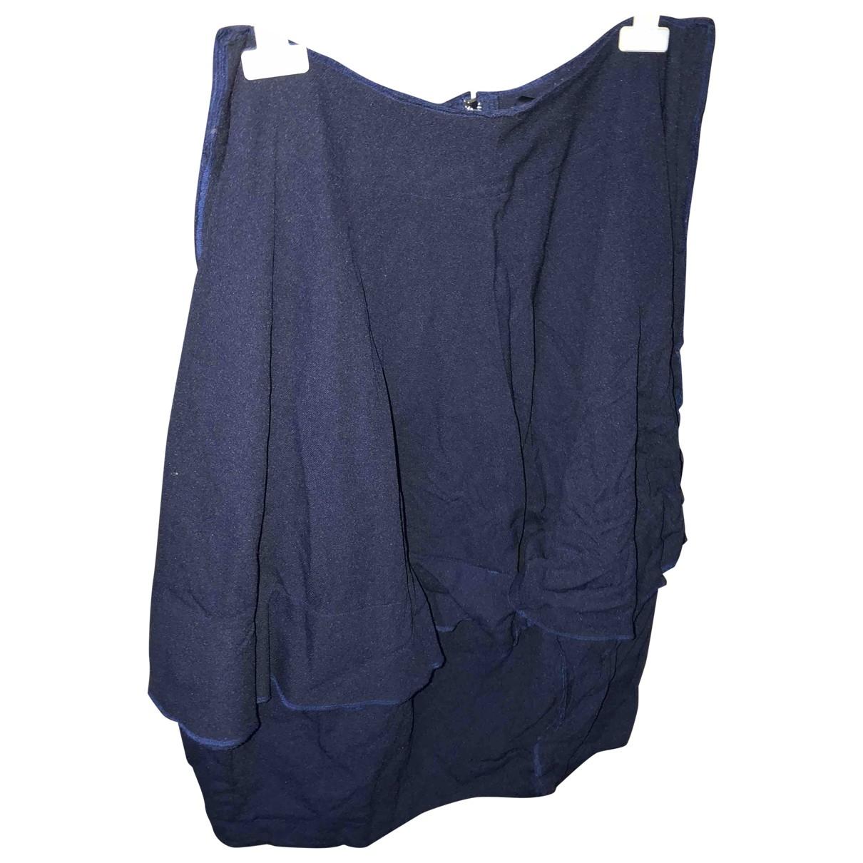 Comme Des Garcons \N Blue Cotton skirt for Women S International