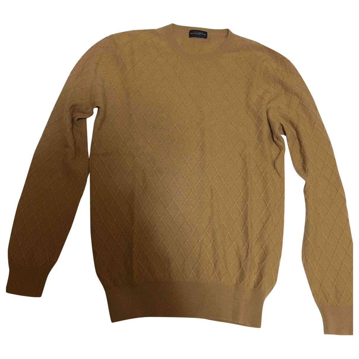 Ballantyne \N Pullover.Westen.Sweatshirts  in  Beige Wolle