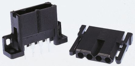 ITT Cannon , Trident Connector Housing, 5.08mm Pitch, 6 Way, 1 Row