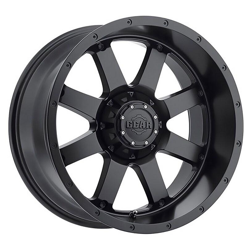 Gear Off Road 726b big block 20x9 5x139.7/5x150 +18et 110.00mm satin black wheel