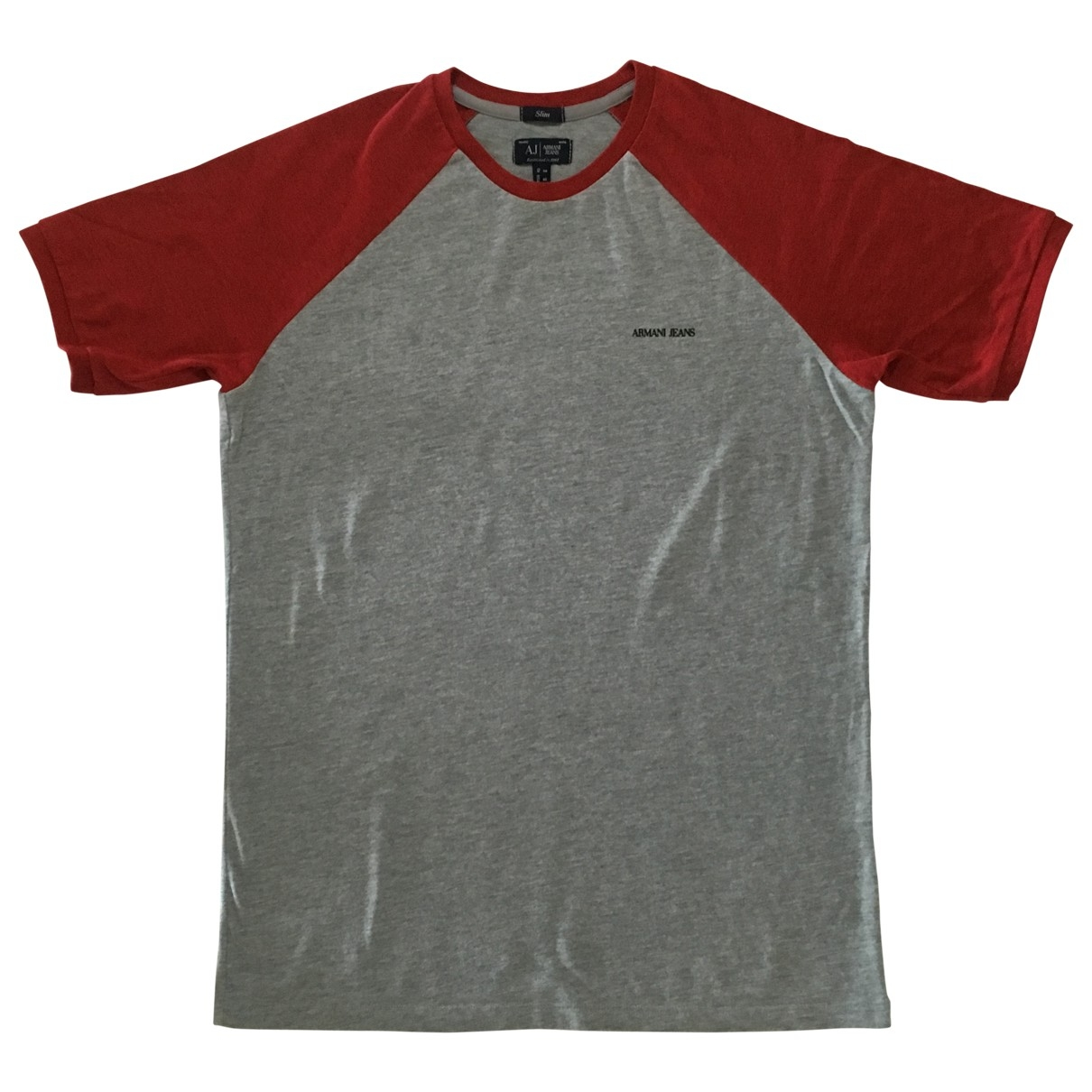 Armani Jeans \N Grey Cotton T-shirts for Men S International