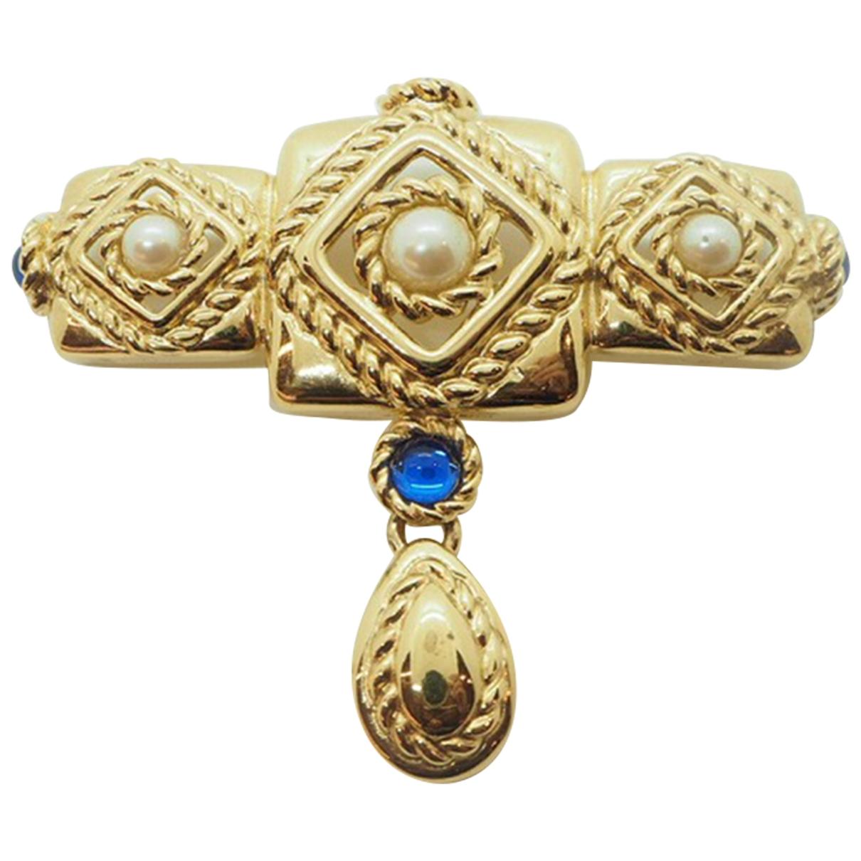 Givenchy \N Brosche in  Gold Vergoldet
