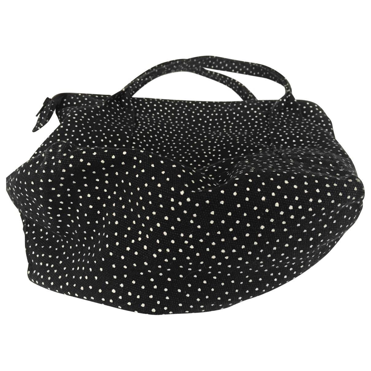 Marimekko \N Handtasche in  Schwarz Baumwolle