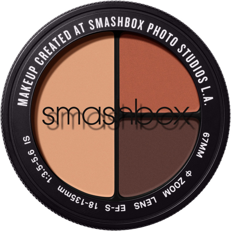 Photo Edit Eyeshadow Trio - Nude Pic Deep (peach matte, red brown matte, purple black matte)