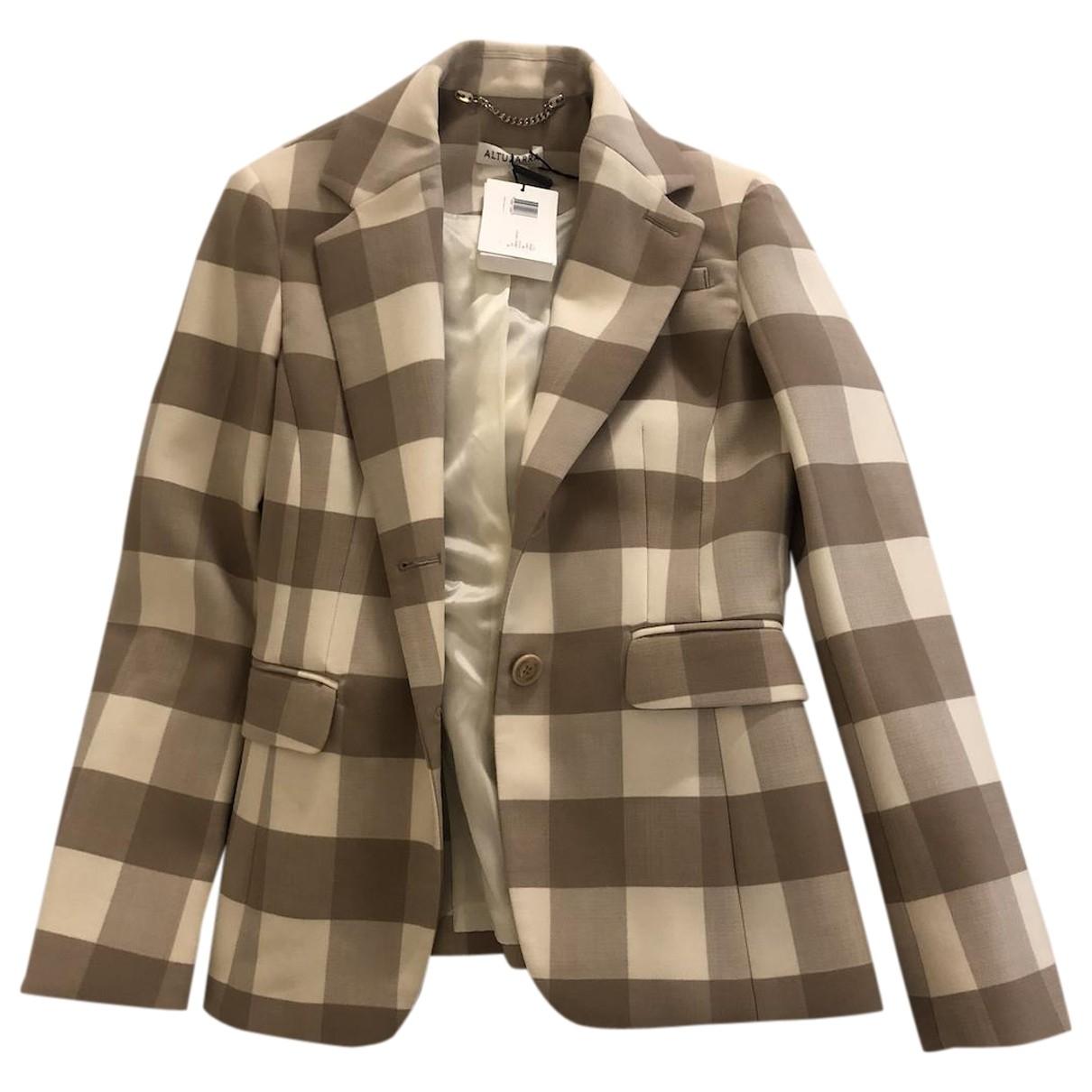 Altuzarra \N Wool jacket for Women 38 IT