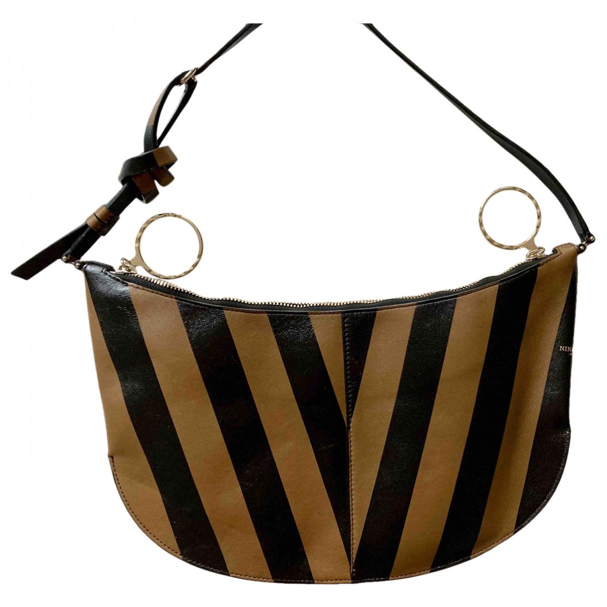 Nina Ricci \N Black Leather handbag for Women \N