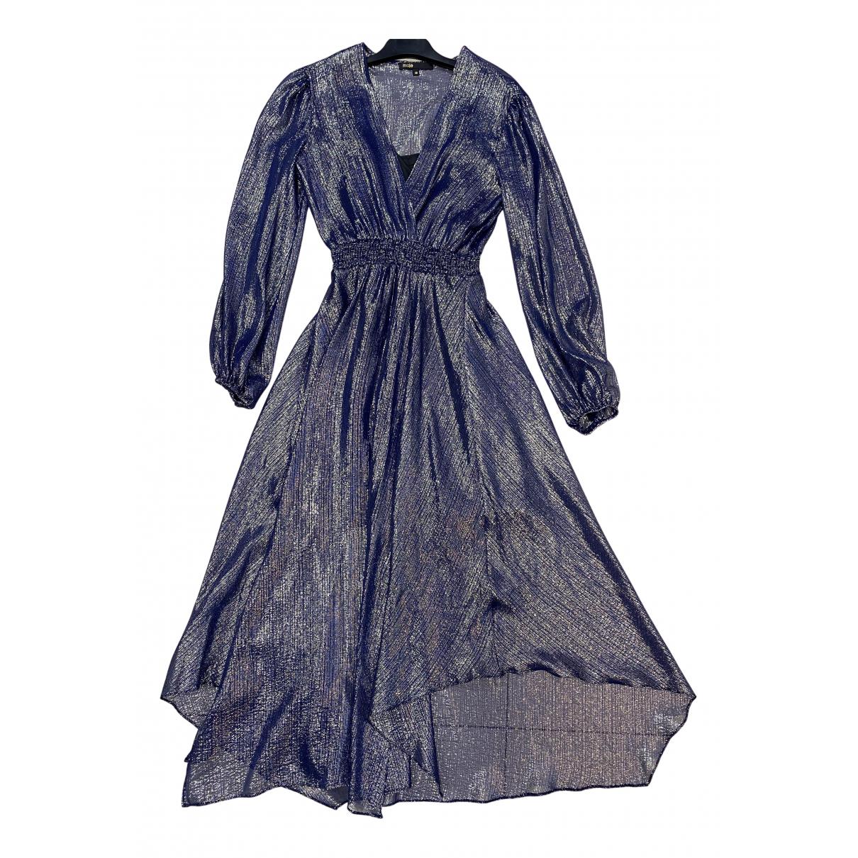 Maje - Robe   pour femme en soie