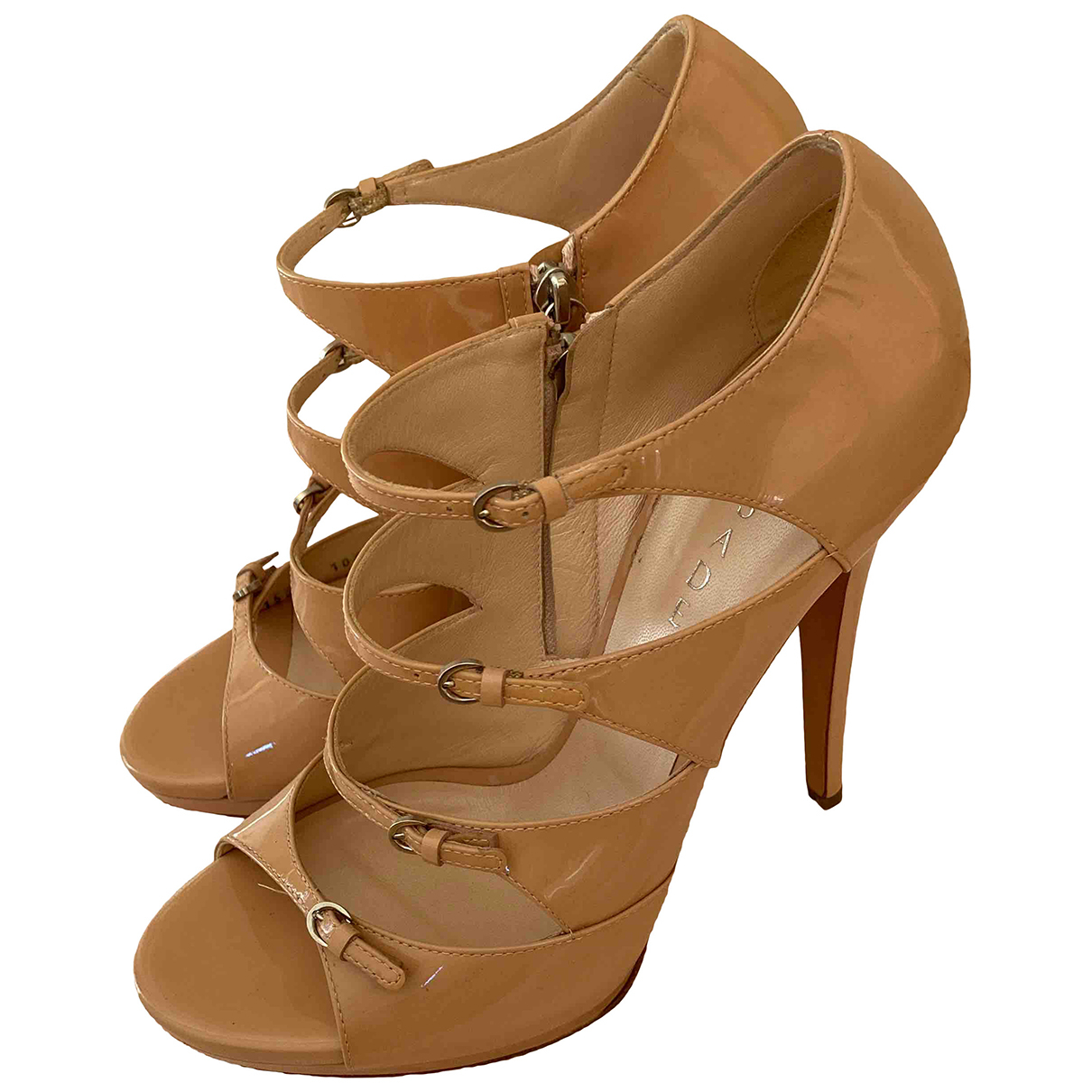 Casadei N Patent leather Heels for Women 40 EU