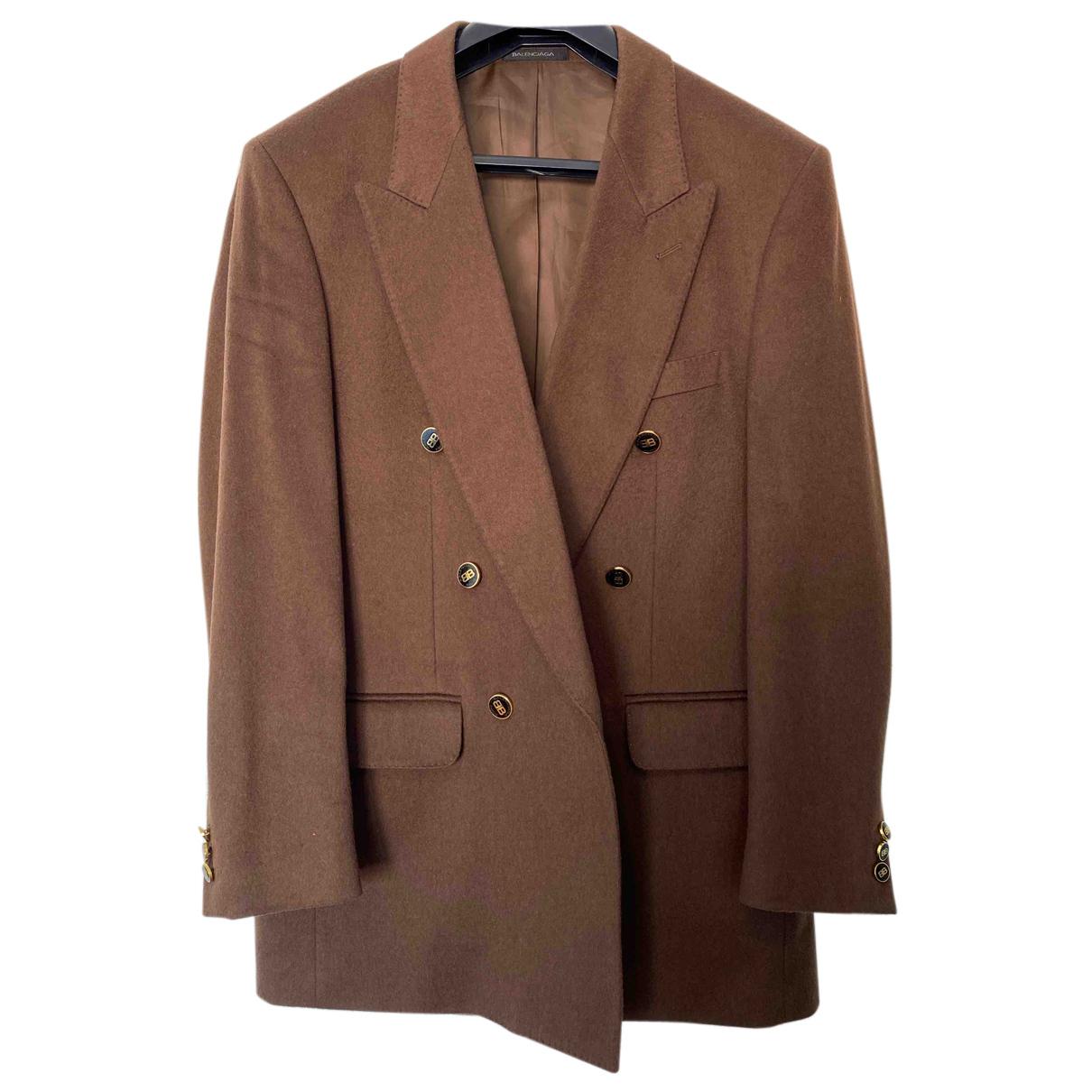Balenciaga - Vestes.Blousons   pour homme en laine - marron