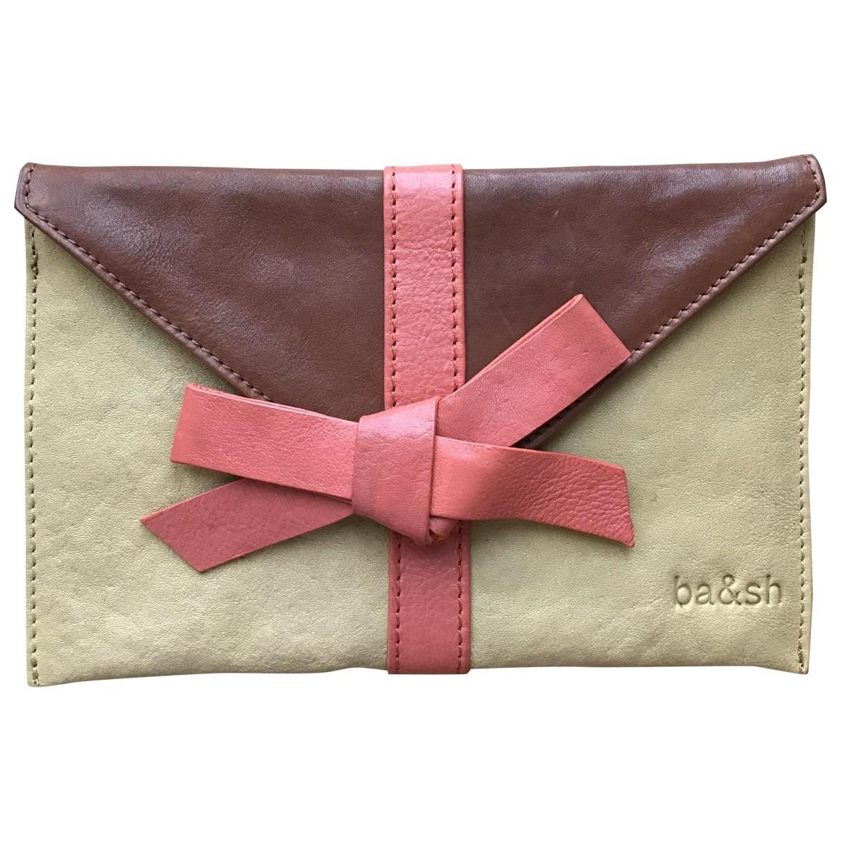 Ba&sh \N Multicolour Leather Clutch bag for Women \N