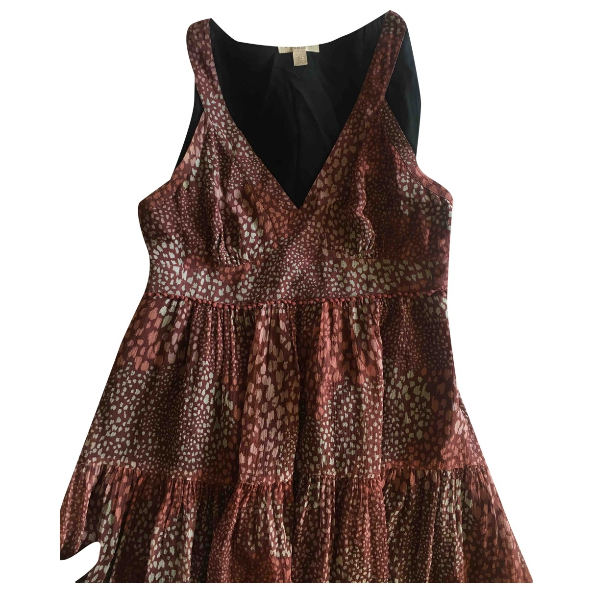 Burberry \N Kleid in  Lila Baumwolle