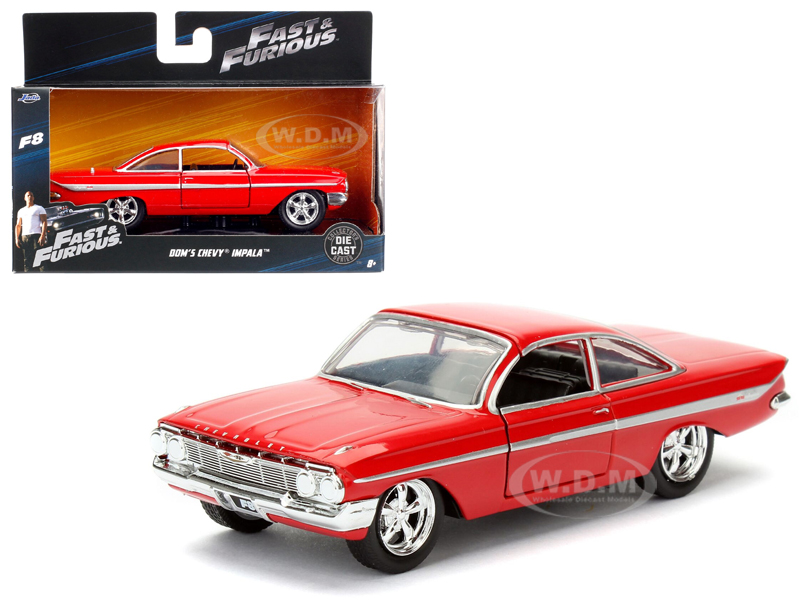 Doms Chevrolet Impala Red Fast & Furious F8