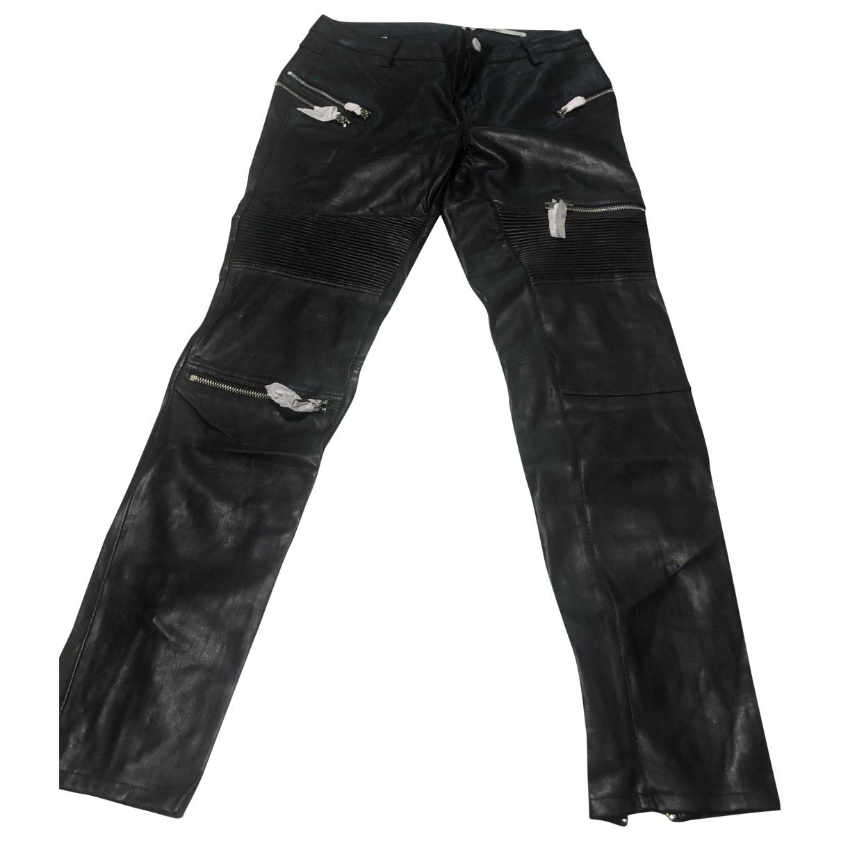 Zara \N Black Trousers for Women M International