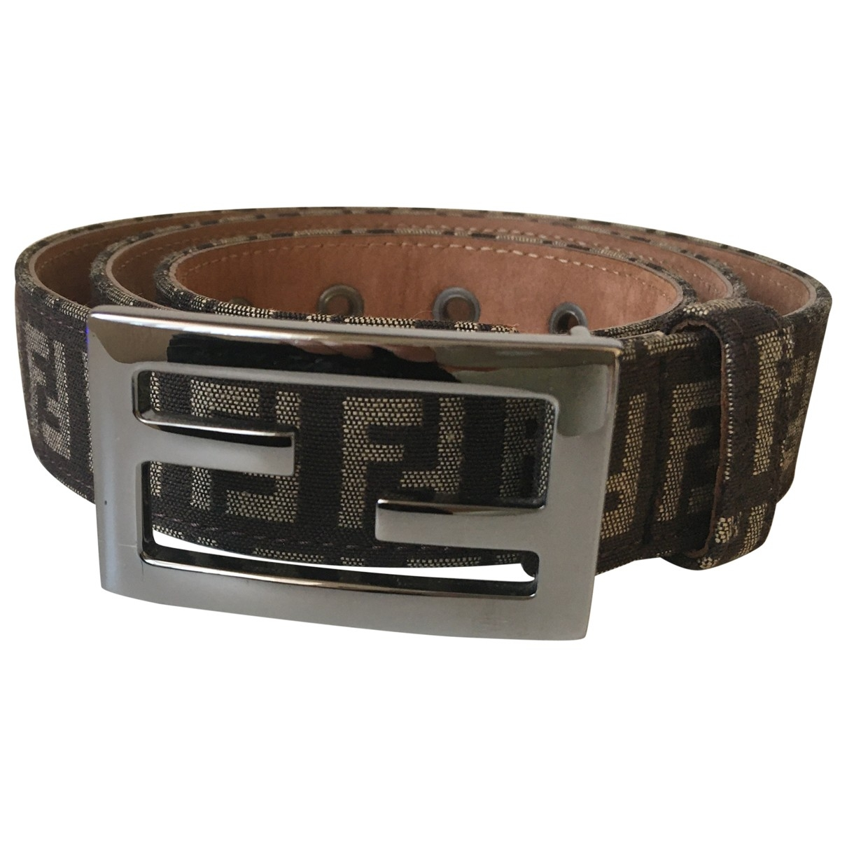 Fendi \N Beige Cloth belt for Women 95 cm