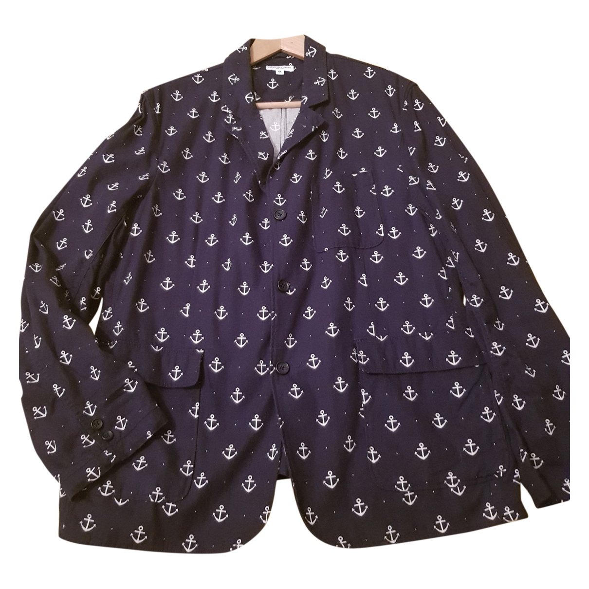 Engineered Garments \N Blue Cotton jacket  for Men XL International