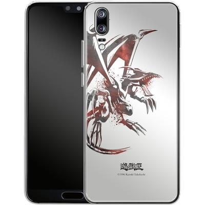 Huawei P20 Silikon Handyhuelle - Red-Eyes B. Dragon von Yu-Gi-Oh!