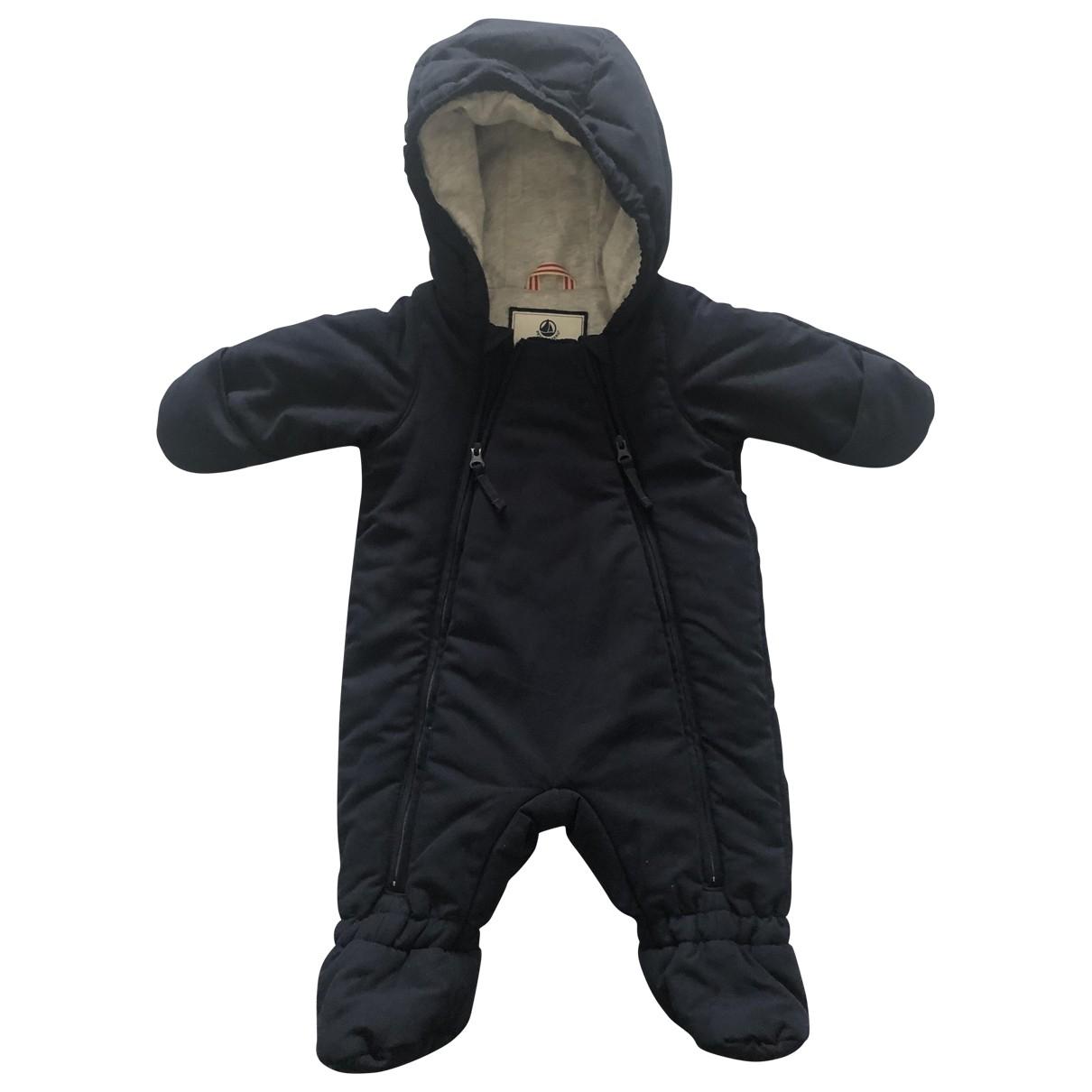 Petit Bateau \N Blue jacket & coat for Kids 3 months - up to 60cm FR