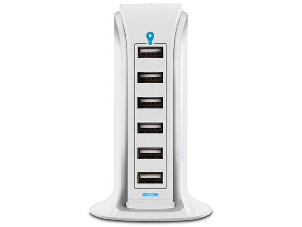 Aduro Powerup Smart 6-port Usb Rapid Charger