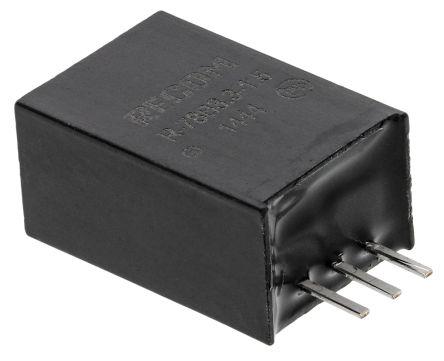 Recom Through Hole Switching Regulator, 3.3V dc Output Voltage, 4.75 → 18V dc Input Voltage, 1.5A Output Current