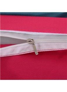 Adorila 60S Brocade Rosy Floral Mandala Pattern Exotic Style 4-Piece Cotton Bedding Sets