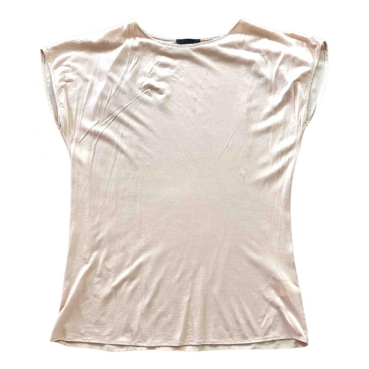 Camiseta de Seda Pinko