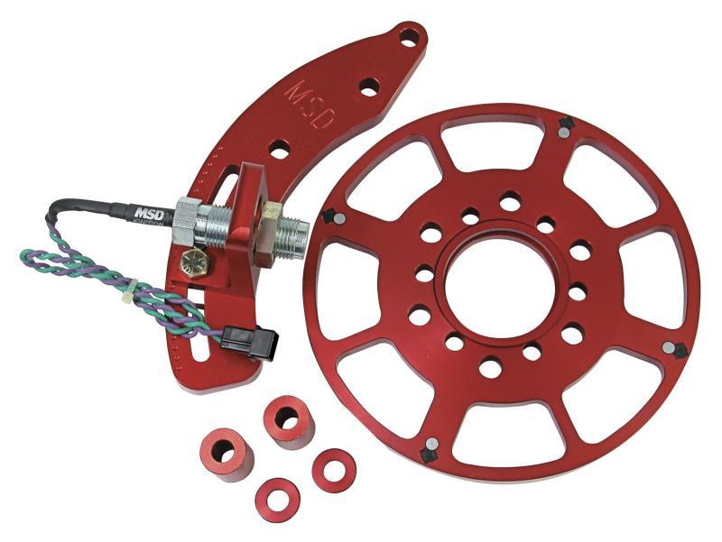 MSD Trigger Wheel; Flying Magnet; Big Block Chevy Chevrolet 7.4L V8