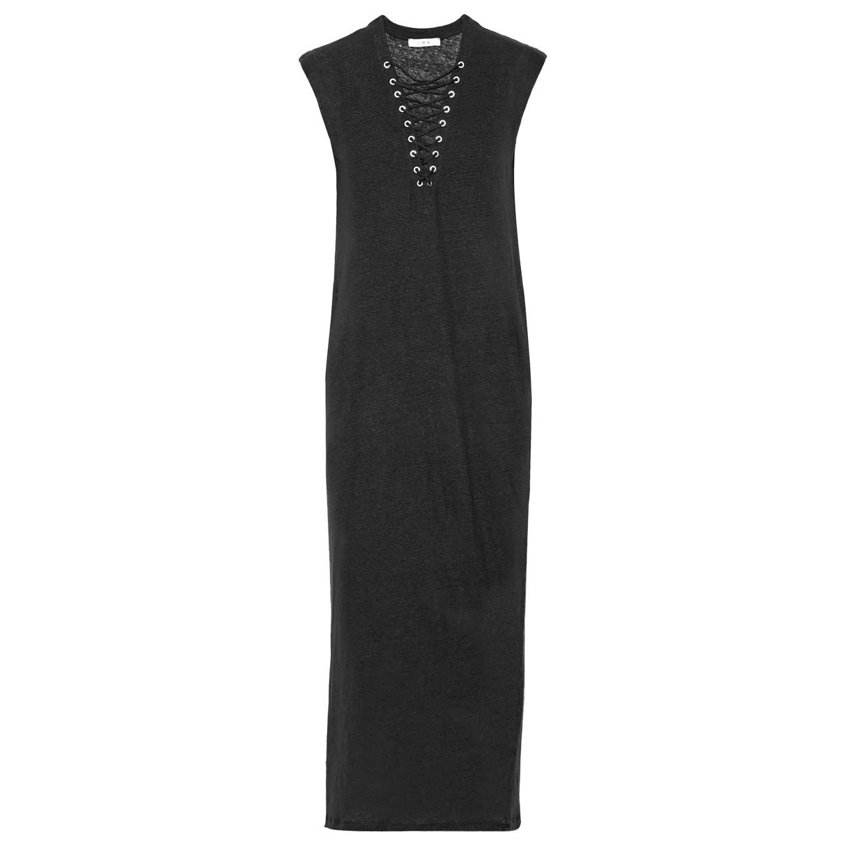 Autre Marque N Black Linen dress for Women L International