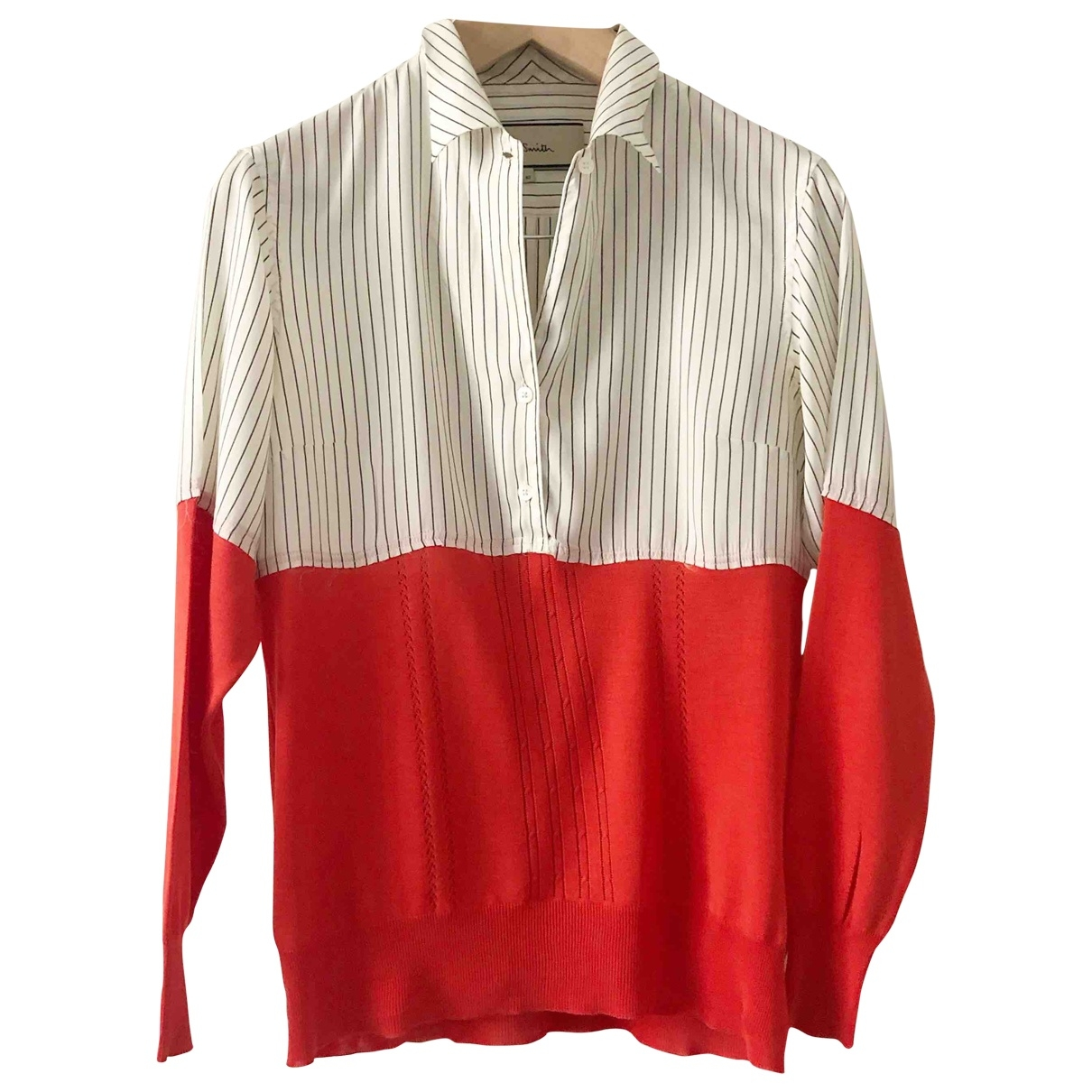Paul Smith \N Red Silk  top for Women 42 FR