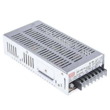 Mean Well , 150W Embedded Switch Mode Power Supply SMPS, 12V dc, Enclosed