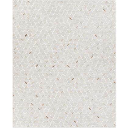 Medora MOD-1005 8 x 10 Rectangle Modern Rug in Camel  Khaki  Cream  Light