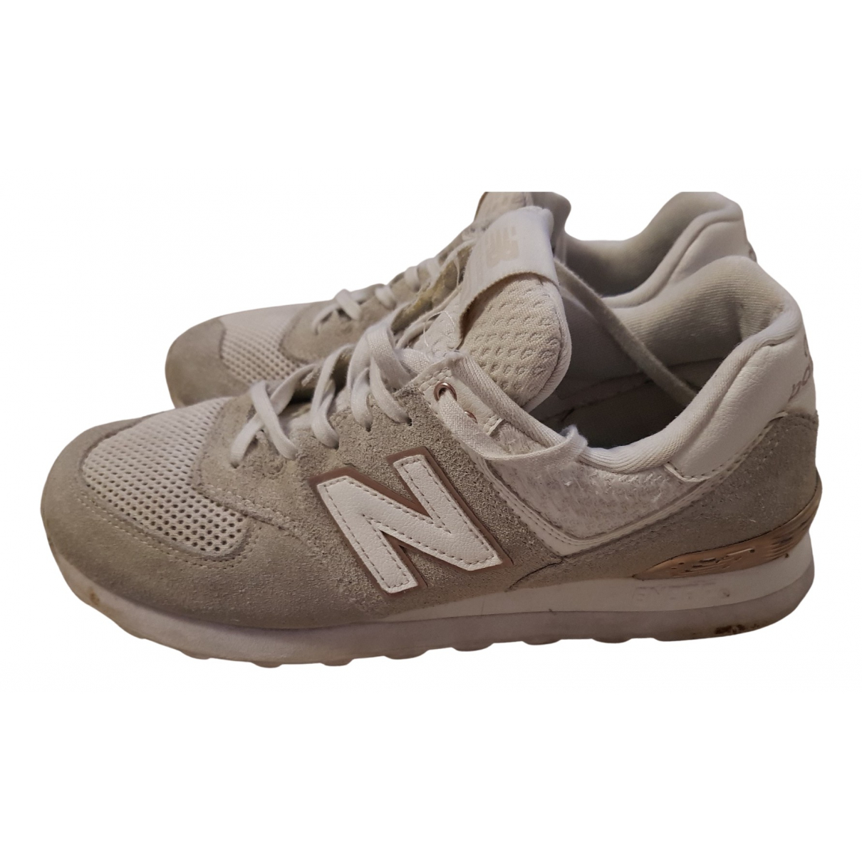 New Balance \N Sneakers in  Weiss Leder