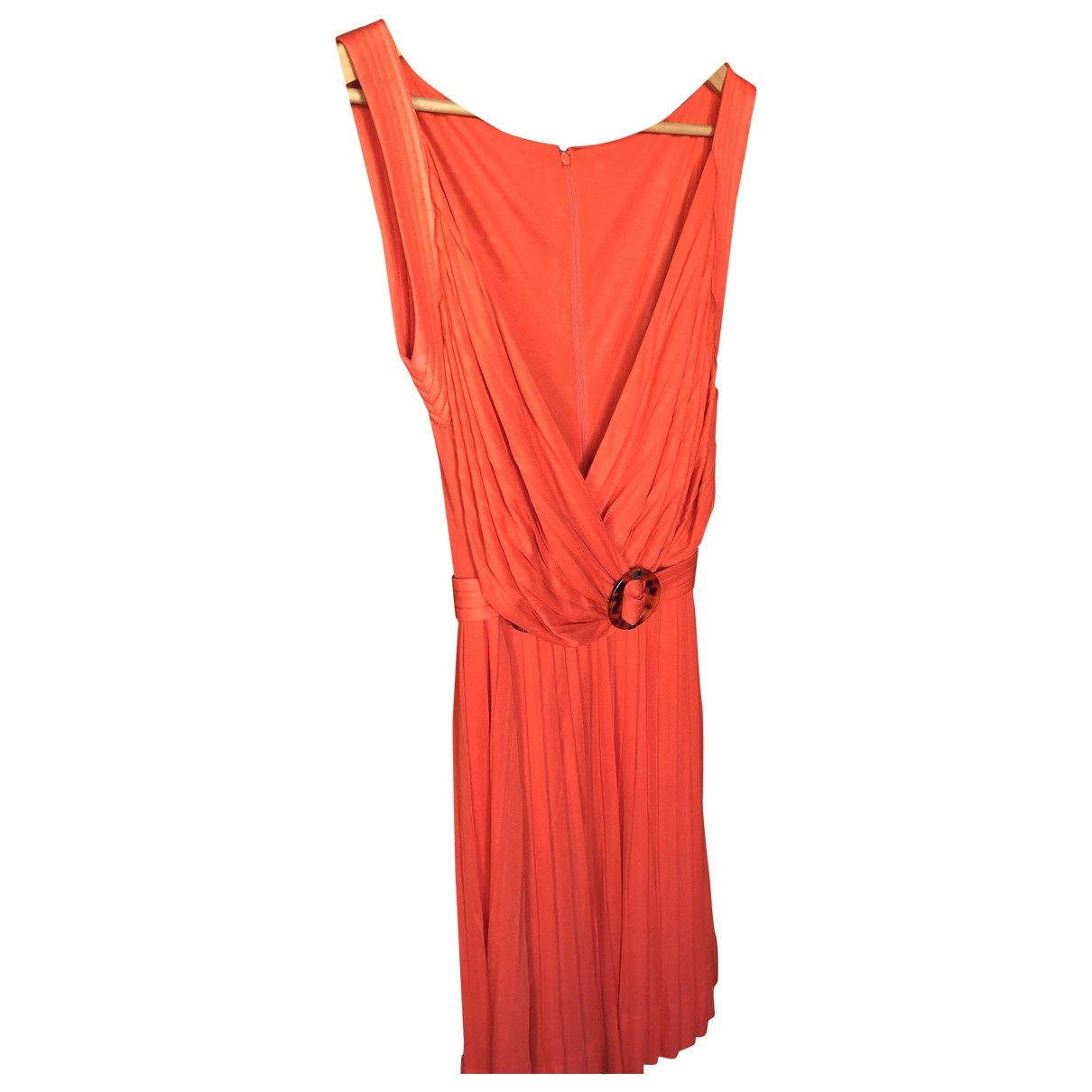 Gucci \N Kleid in  Rot Polyester