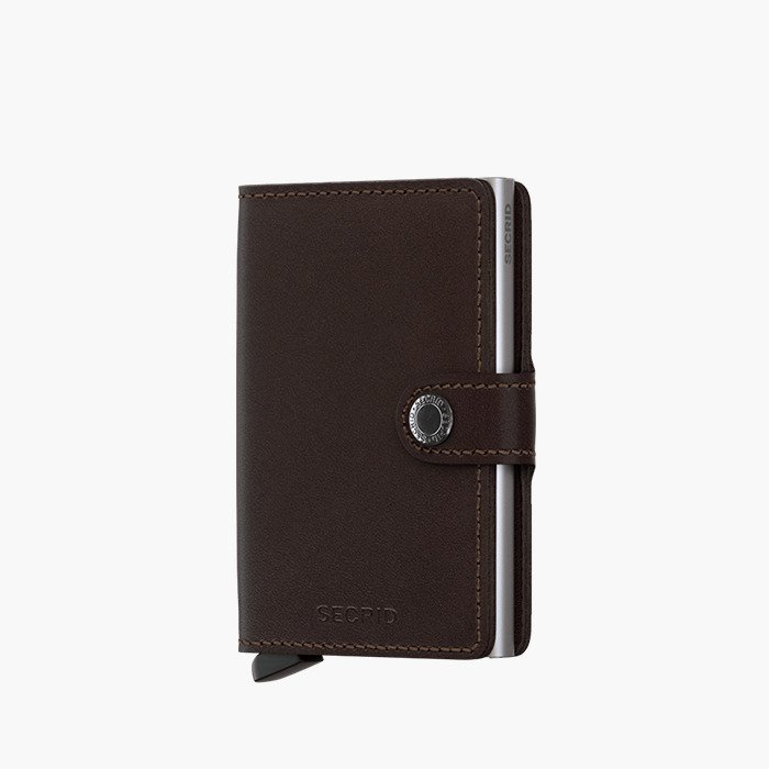Secrid Miniwallet Original M-Dark Brown
