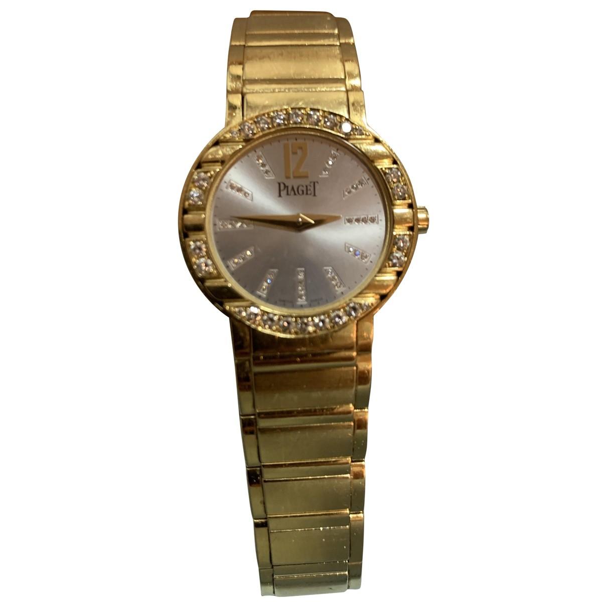 Piaget - Montre   pour femme en or jaune - dore