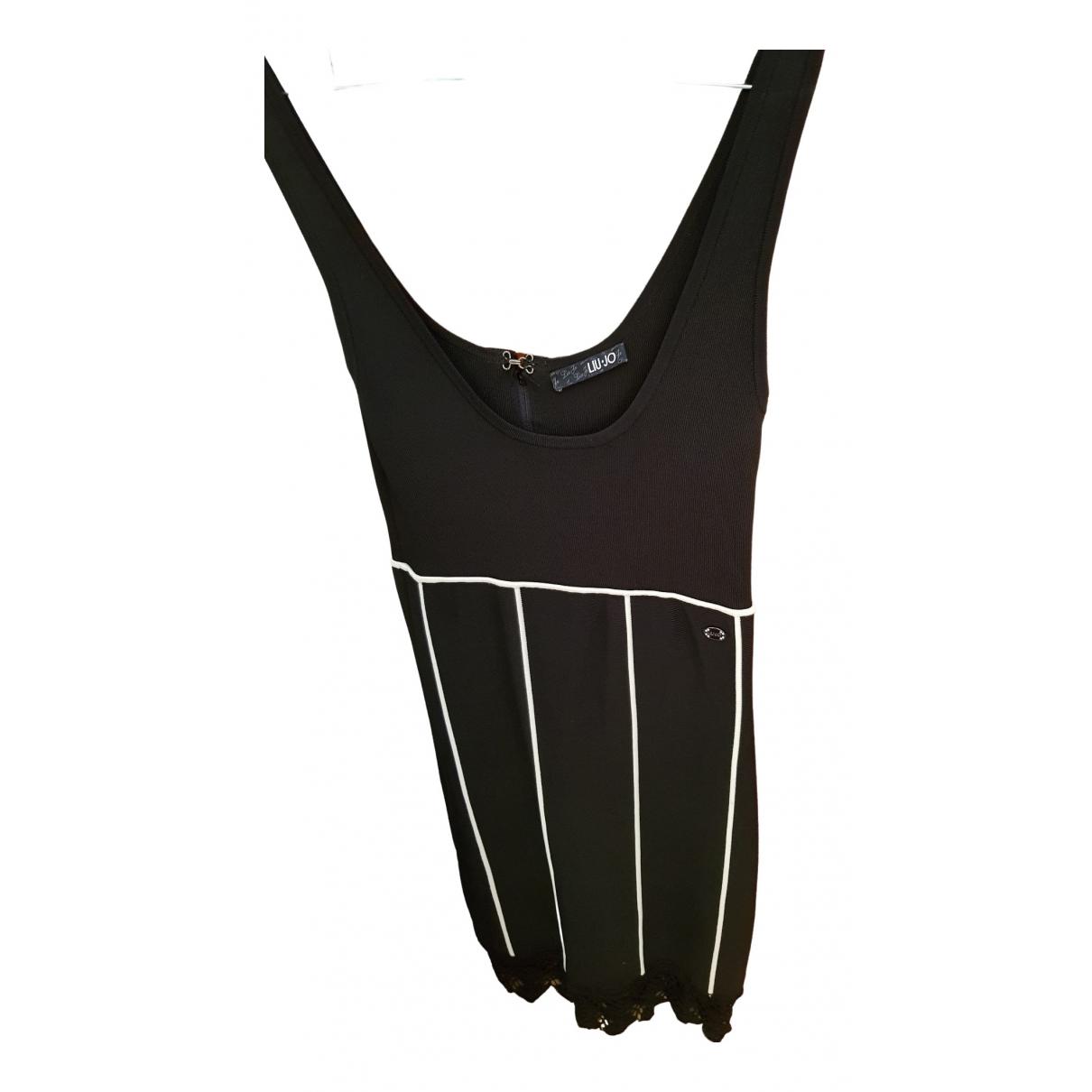 Liu.jo \N Kleid in  Schwarz Synthetik