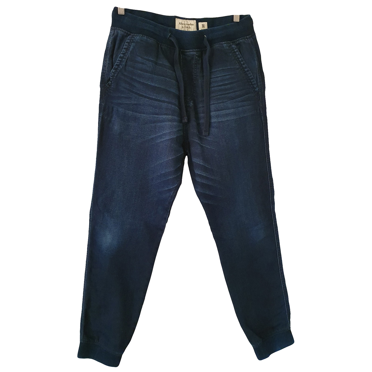 Abercrombie & Fitch \N Blue Cotton Trousers for Men M International