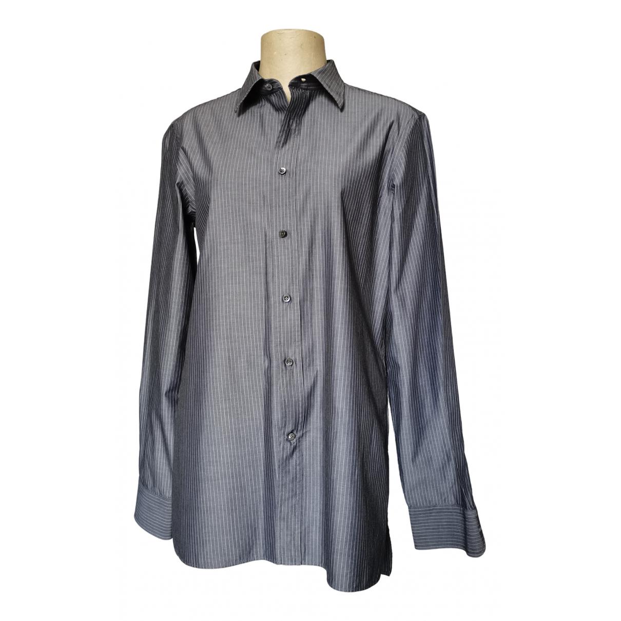Mauro Grifoni - Chemises   pour homme en coton - gris