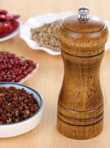 1pc Wooden Pepper Grinder