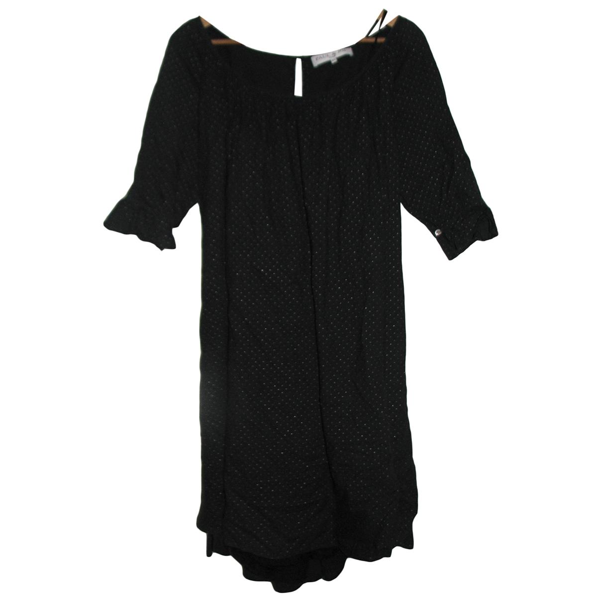 Paul & Joe \N Kleid in  Schwarz Baumwolle