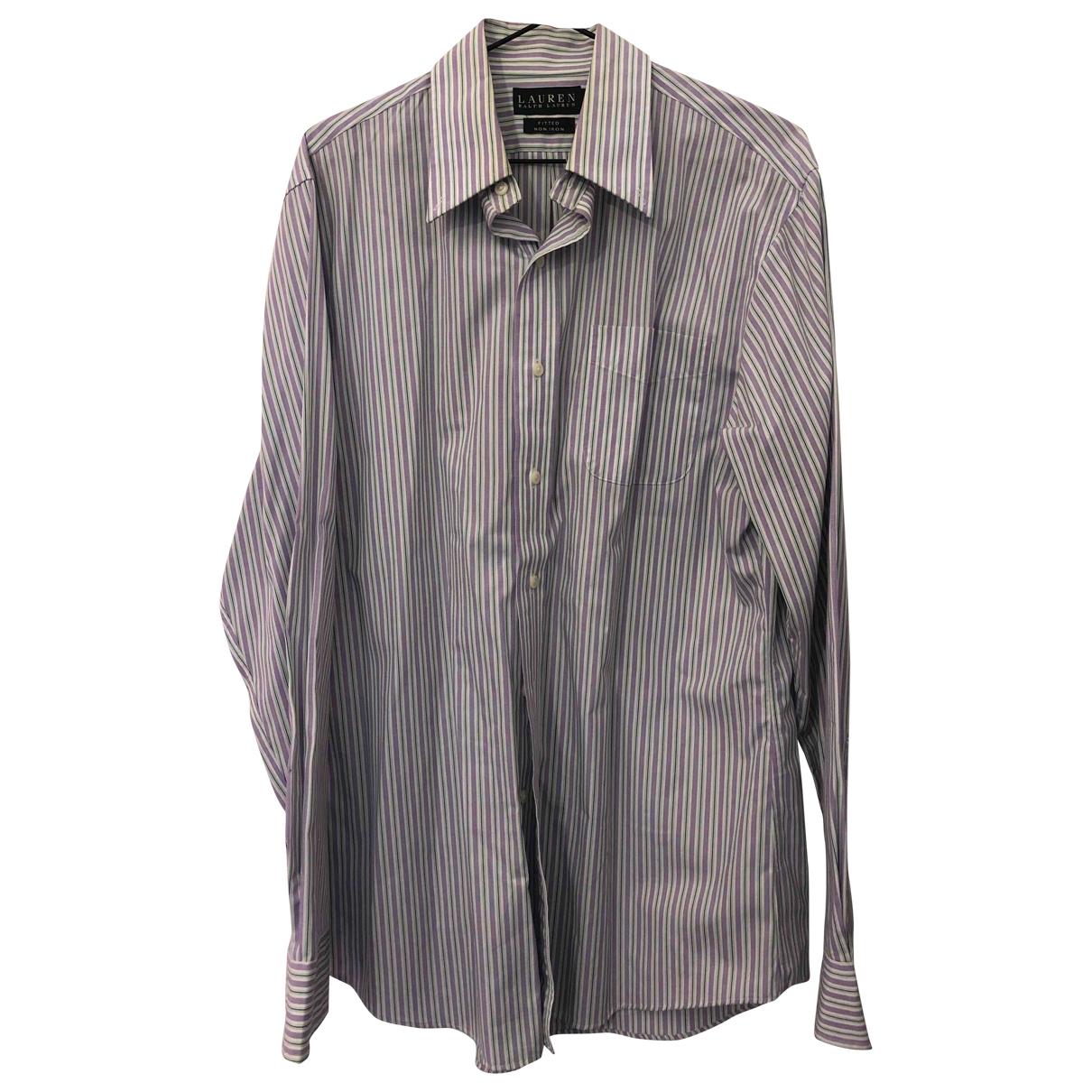 Lauren Ralph Lauren \N Multicolour Cotton Shirts for Men 40 EU (tour de cou / collar)