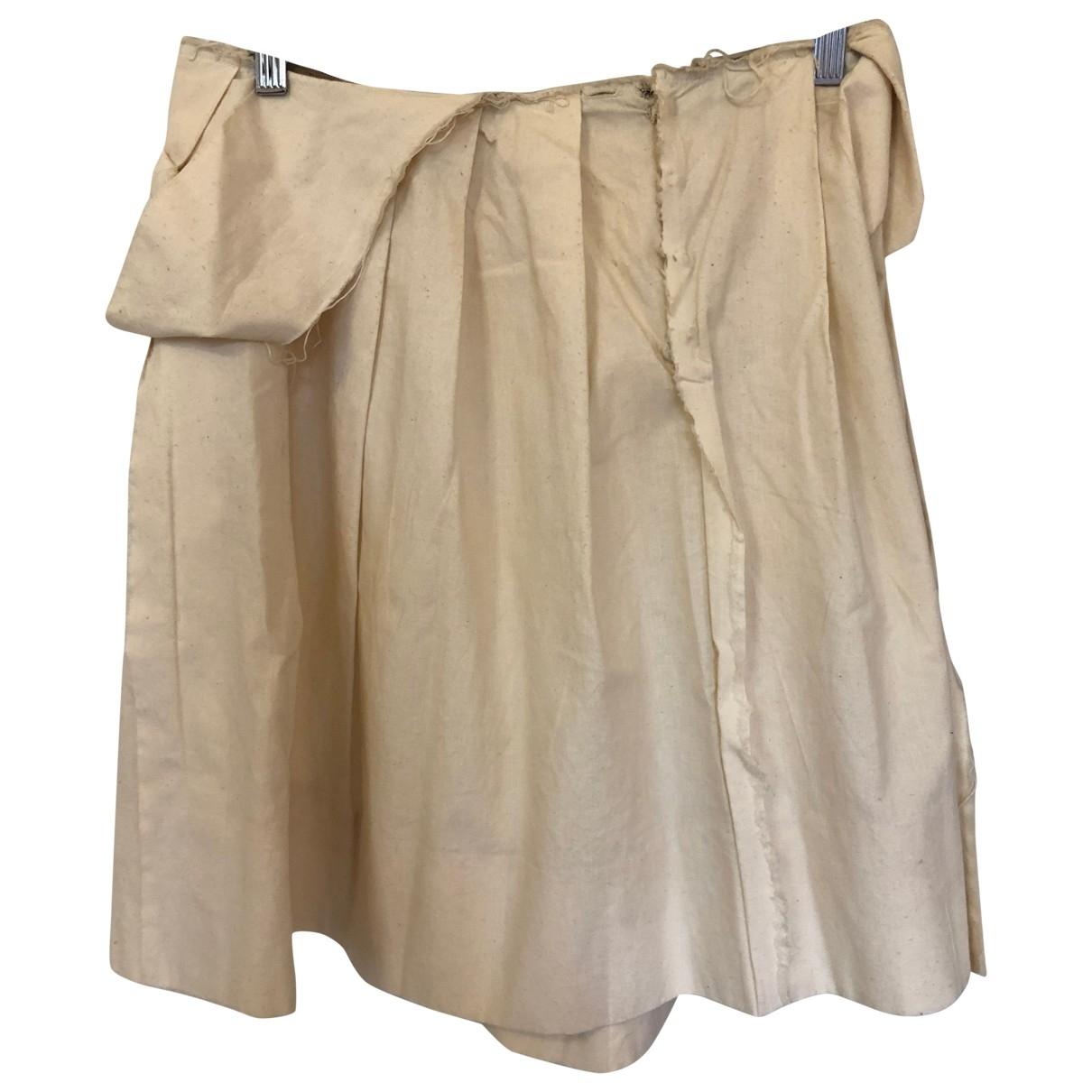 Marni - Jupe   pour femme en coton - beige